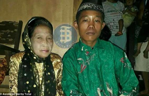 ازدواج نوجوان ۱۶ ساله با پیرزن ۷۱ ساله!