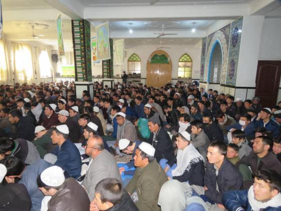 برگزاری مراسم جشن عیدمیلاد مولودکعبه درمرکز فقهی ائمه اطهار افغانستان