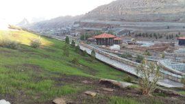 باغ پرندگان از زاویه کلان شهر قم