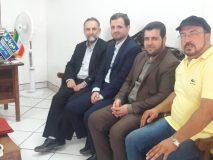 دیدار مدیر درمان تامین اجتماعی از دفتر پایگاه خبری رهپویان قم