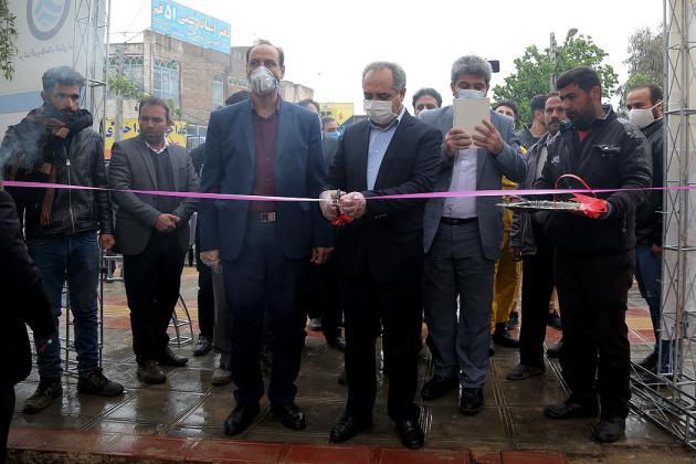 بهرهبرداری از شبکه فاضلاب بیمارستان فرقانی با حضور استاندار قم