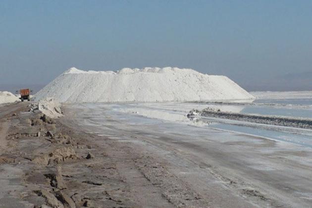 نجات خانواده ای گرفتار در باتلاق نمکی حوض سلطان قم