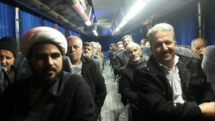 ۱۲۰ مددجوی پدر سالمند به مشهدالرضا (ع) مشرف شدند