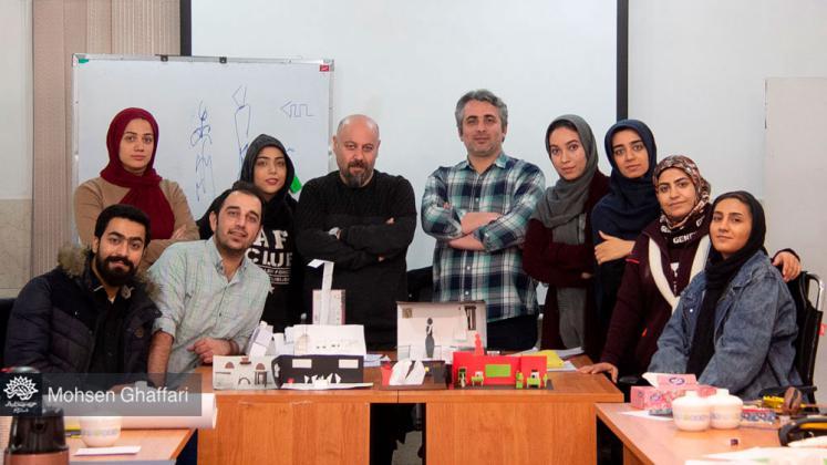 برگزاری کارگاه طراحی صحنه در حوزه هنری قم