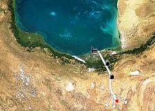 احداث بزرگترین رودخانه مصنوعی کشور ازشمال تافلات مرکزی ایران