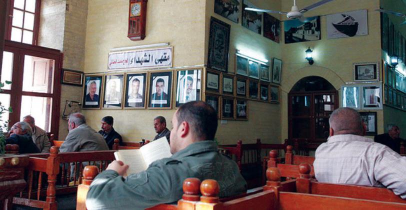 مقاهي بغداد شاهدة على تاريخ العراق الثقافی العریق