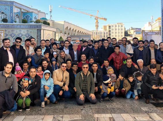 تجلی عشق واخلاص در سفر معنوی خبرنگاران قمی به مشهد مقدس