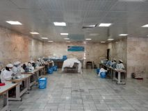 تولید روزانه ده هزارعدد ماسک  توسط زنان سرپرست خانوار قم