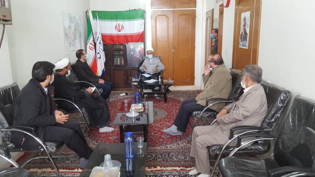 دیدار مدیرکل بهزیستی قم باریاست کمیسیون امنیت ملی وسیاست خارجی مجلس