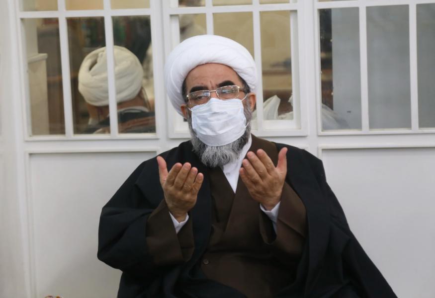 برپایی جشن عیدمبعث وملبس شدن تعدادی ازطلاب دردفتر آیتالله فاضل لنکرانی