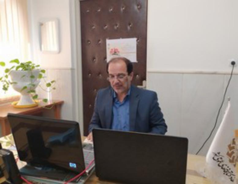 برنامه روایتگری مجازی با حضور همرزم شهید زین الدین در قم برگزار شد