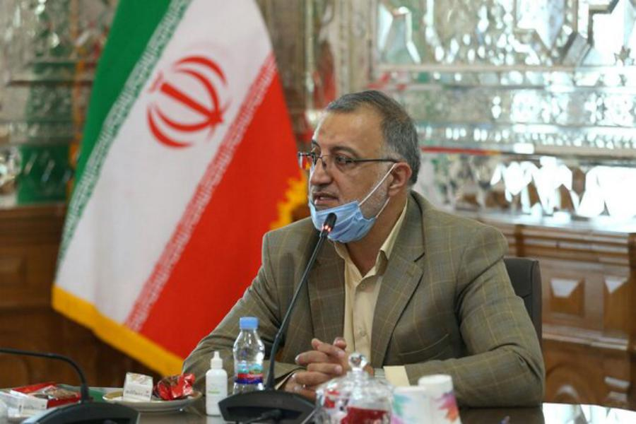بازدید دکتر زاکانی نماینده قم از بیمارستان فرقانی