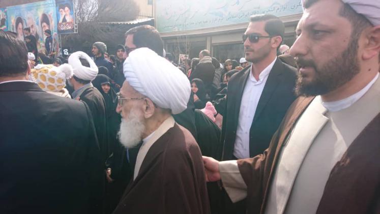آیت الله نوری همدانی: نيروي انتظامي بازوي توانمند انقلاب اسلامي
