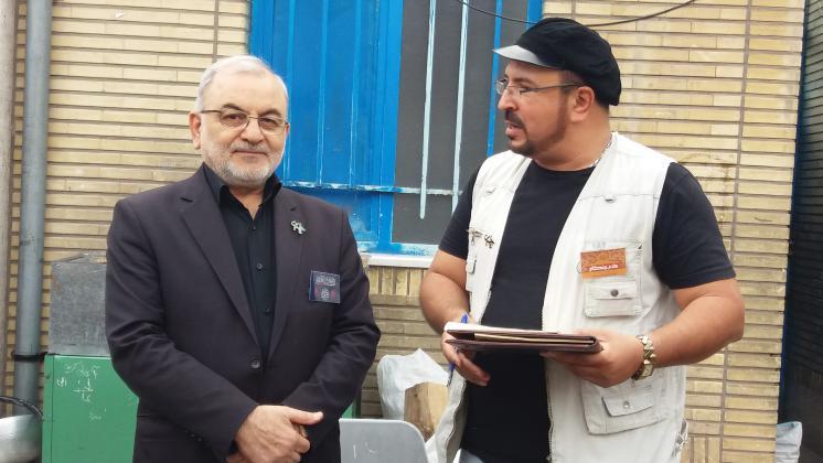 خدمت به دستگاه امام حسین (ع)از بزرگترین افتخارات است
