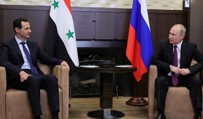 الموقف المنسوب لبوتين حول انسحاب القوات الإيرانية من سوريا غيرصحيح