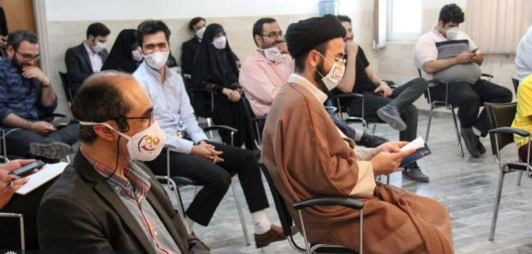 سومین محفل مجازی «قمپز» برگزار شد / لبخند از پشت ماسکها