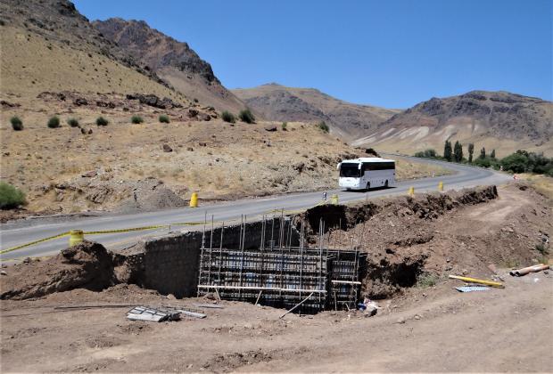 اجرای طرح تعمیر و تعریض پلهای آبرو محورقم – تفرش
