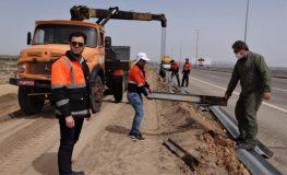 بهره برداری از دومین مرحله از طرح راه بخشنده در آزادراه قم – تهران