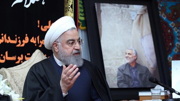 روحاني:إذاتعرضت أمريكا لهجمات في دولة أخرى ستكون مخطئة إذااتهمت إيران