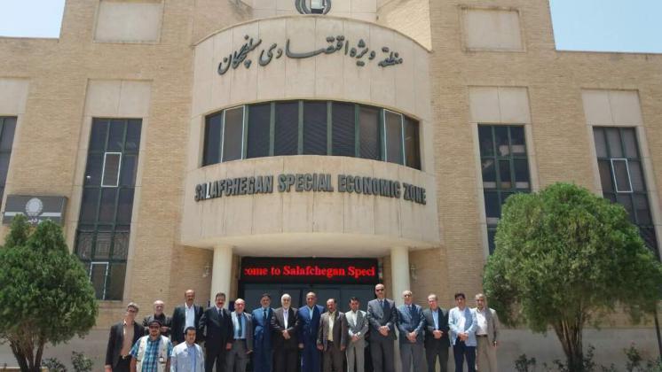 بازدید هیاتاقتصادی و تجاری عراق از منطقه ویژه اقتصادی سلفچگان