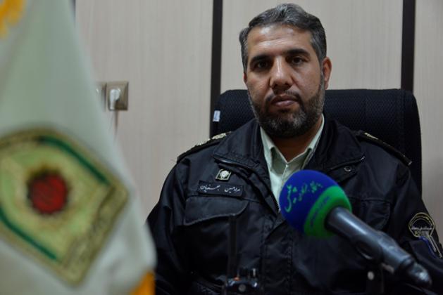 فرمانده انتظامی شهرستان اعلام کرد:دستگیری ۷ سارق و ۱۲ معتاد در قم