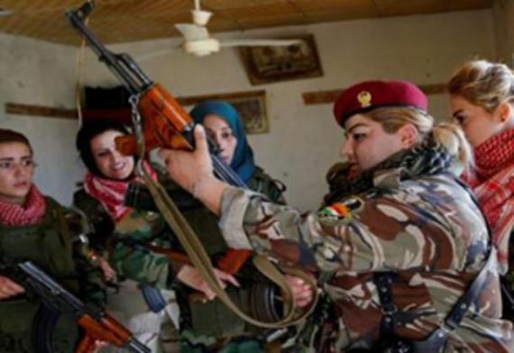 گُردان زنان ایزدی آماده انتقام خونین از داعش