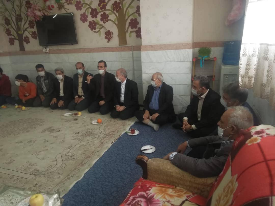 بازدید نوروزی فرماندار قم از مرکز شبانه روزی حضرت حمزه (ع)