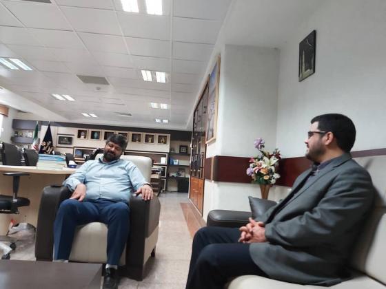 بررسی وضعیت پروژه کتابخانه امام خمینی وراه اندازی بخش انجمن خیرین کتابخانه ساز