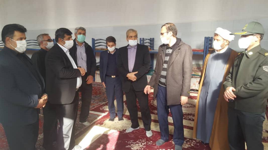 افتتاح ساختمان جدید کمپ پاکان کوثر قم باحضور مسئولین استانی