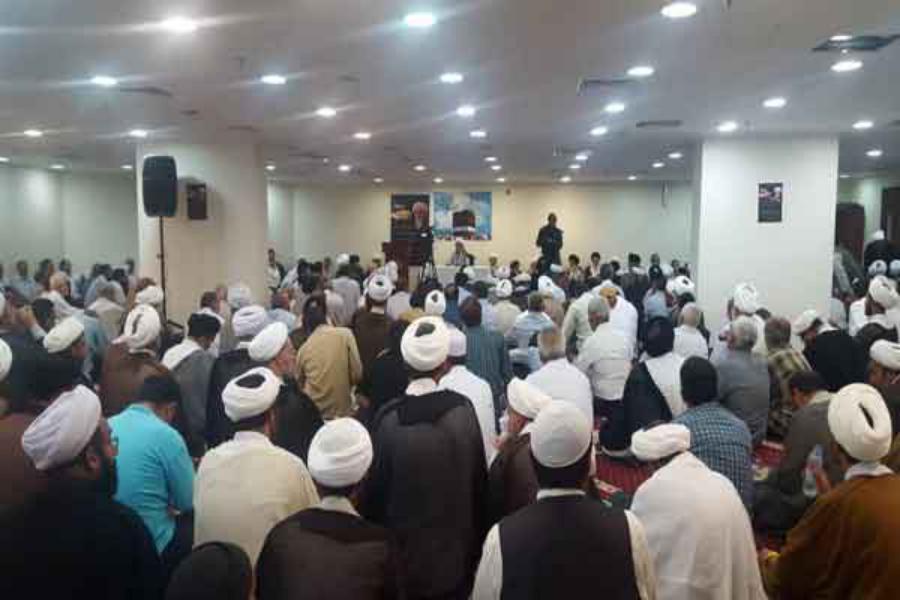برگزاری مراسم شهادت امام محمد باقر(ع)دردفتر مرحوم آیت الله العظمی فاضل لنکرانی