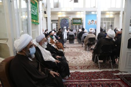 برگزاری جشن میلادنبی مکرم اسلام(ص)و امام جعفرصادق(ع)دردفتر آیت الله فاضل لنکرانی