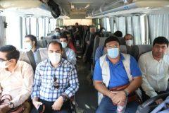 بازدید خبرنگاران ازپروژه های گردشگری بخش خلجستان قم