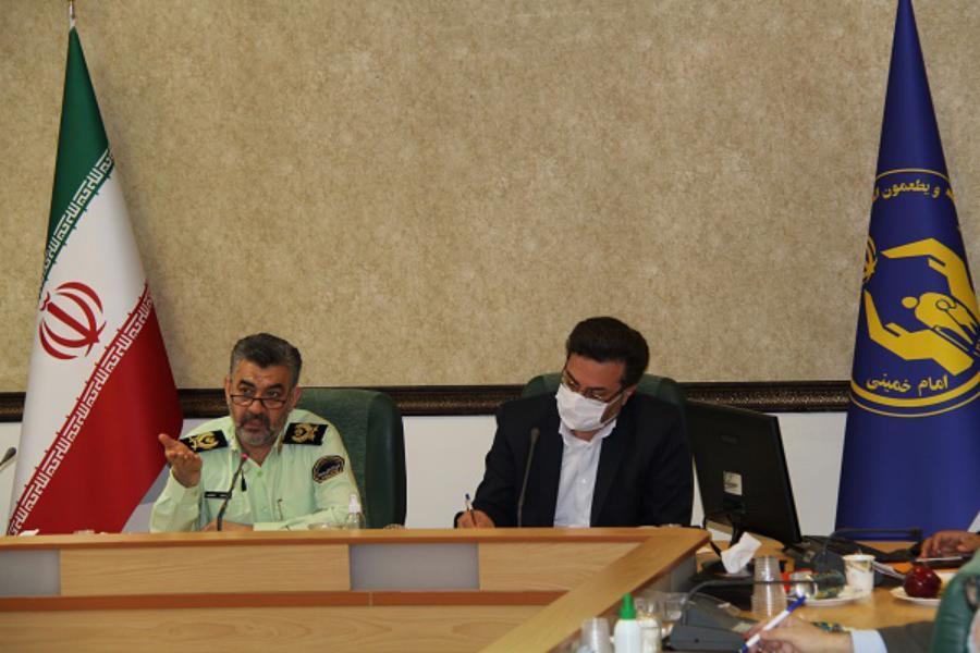 اعلام آمادگی نیروی انتظامی استان قم برای همکاری با کمیته امداد
