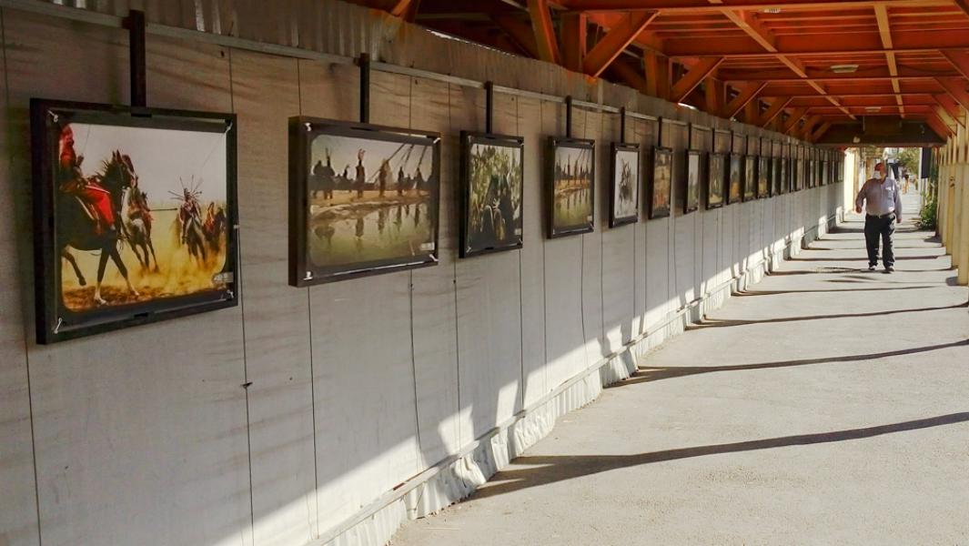 نمایشگاه عکس تعزیه در نگارگذر فرهنگ قم بر پا شد