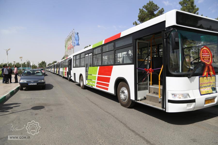 ورود ۲۰ دستگاه اتوبوس بازسازی به ناوگان اتوبوسرانی در ایامالله دهه فجر