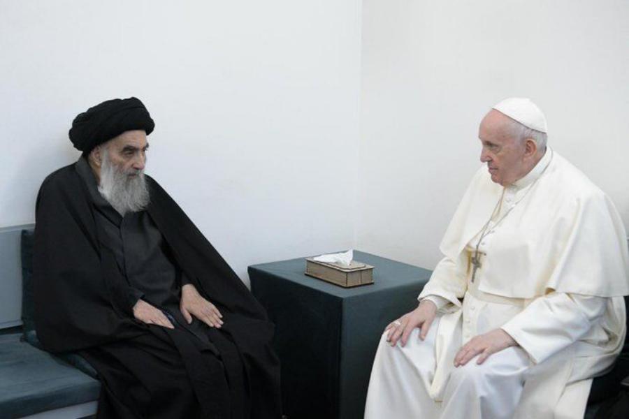 علی عقب زیارته إلى العراق :ليت البابا فرنسيس يعلم!