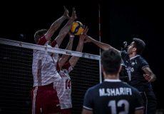 شکست خفت بار تیم والیبال ایران مقابل لهستان!