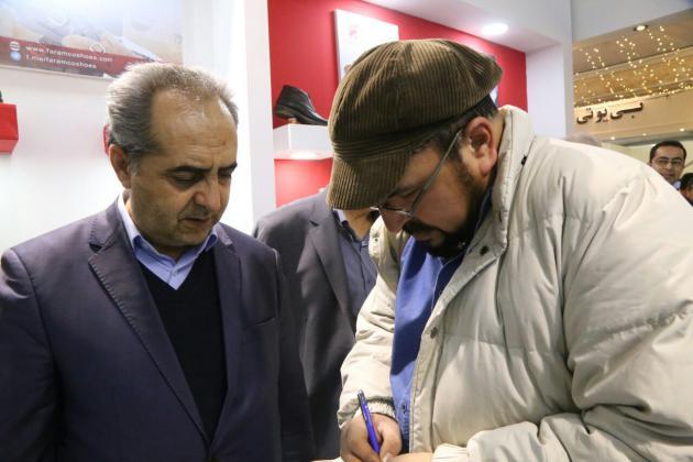 افتتاح پنجمین نمایشگاه کفش، صندل و صنایع وابسته قم