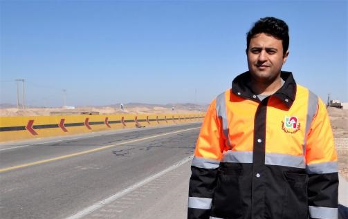 پل باقرآباد بخش جعفریه استان قم احداث ومورد بهره برداری قرار گرفت