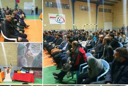 برگزاری مراسم تجلیل از ورزشکاران و مربیان رزمی درقم